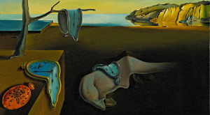 Dali', Salvador (1904-1989): The Persistence of Memory (Persistance de la memoire), 1931. New York, Museum of Modern Art (MoMA) Oil on canvas, 9 1/2 x 13 (24.1 x 33 cm). Given anonymously. 162.1934*** Permission for usage must be provided in writing from Scala. May have restrictions - please contact Scala for details. ***