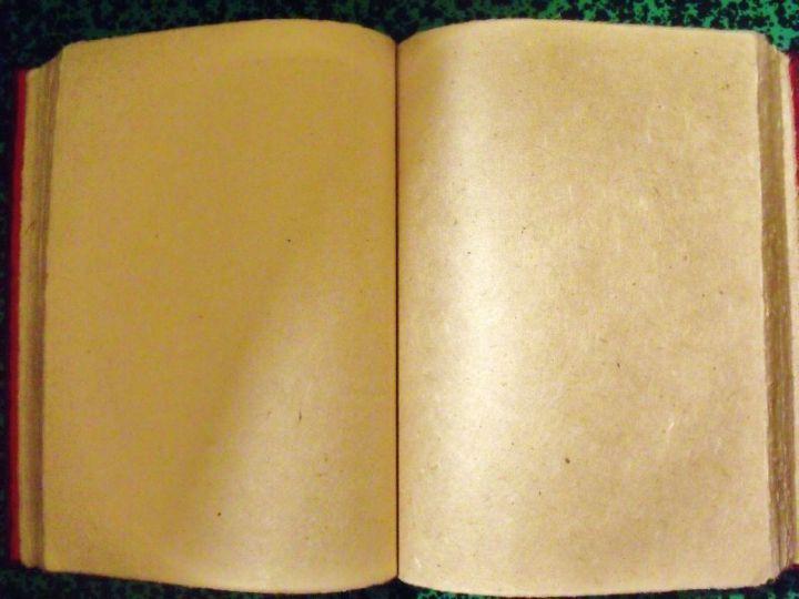 livre page banche