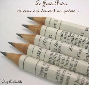 logo écriture poésie