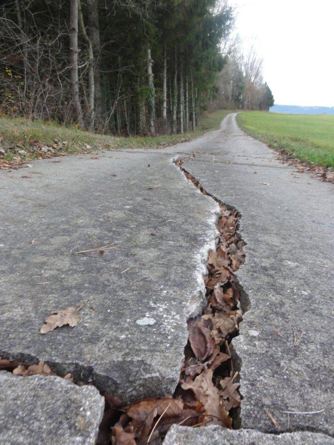 route cassée