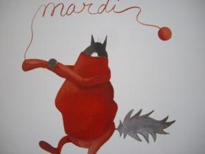 loup rouge