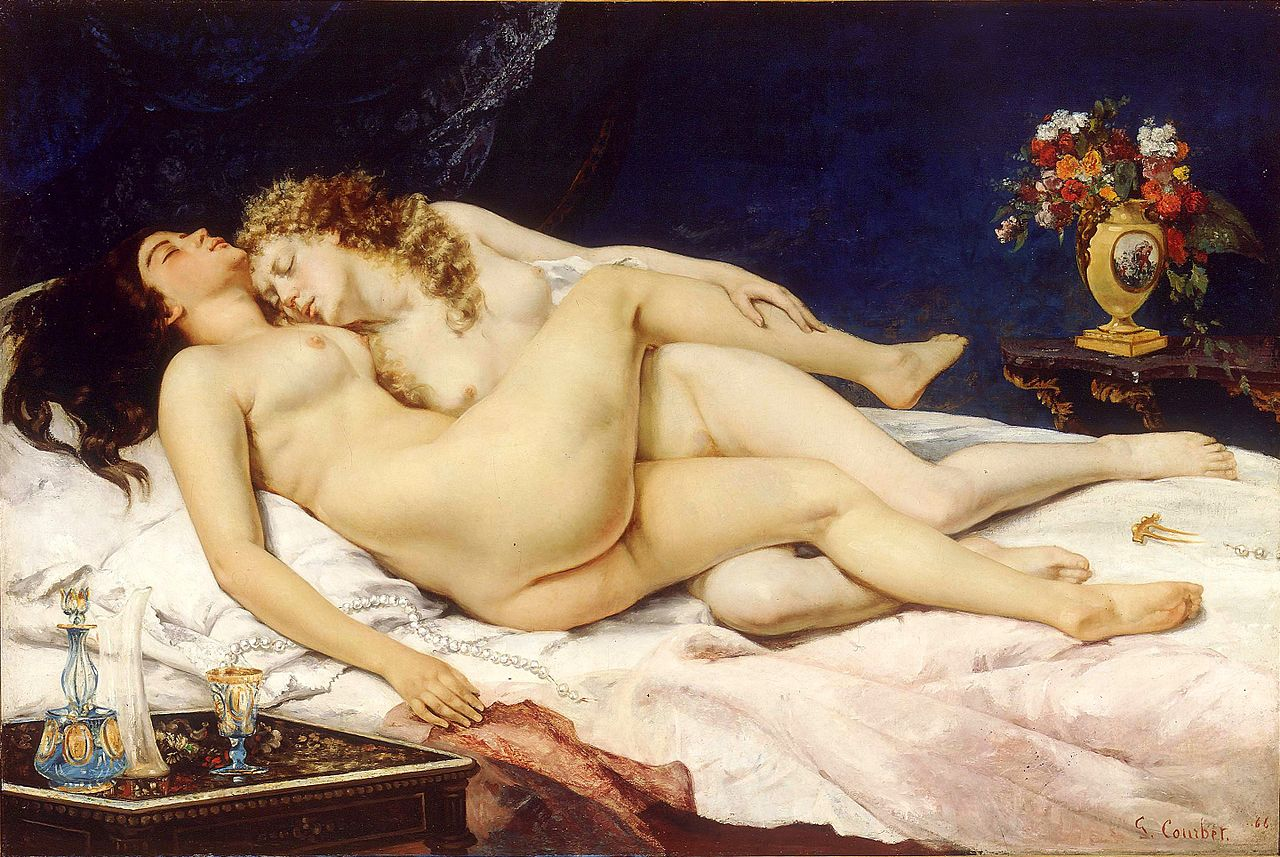 Le sommeil, Gustave Courbet