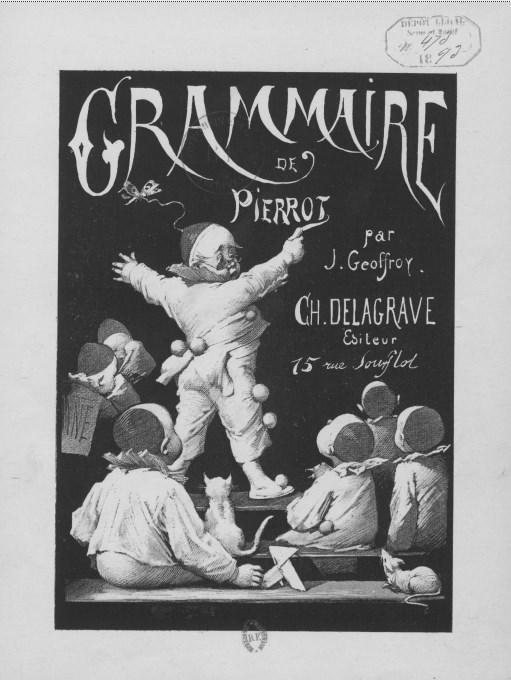 GRAMMAIRE DE PIERROT