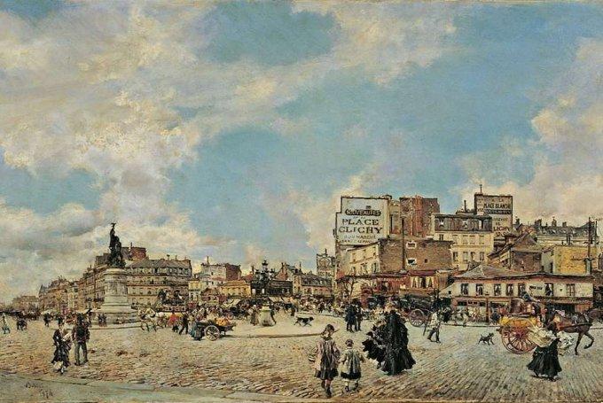 Giovanni Boldini 1874 PLACE CLICHY