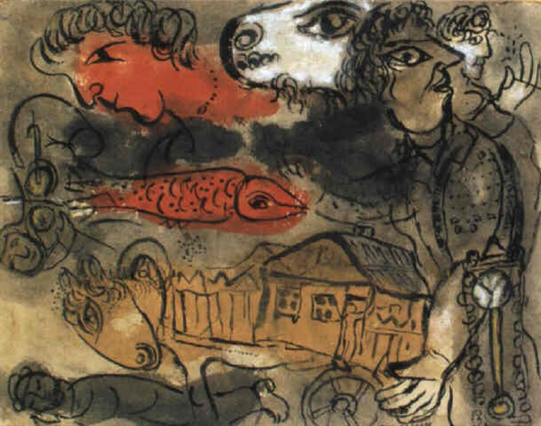 marc-chagall-le-poisson-rouge