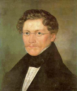 Carl Spitzweg, Selbstportrait