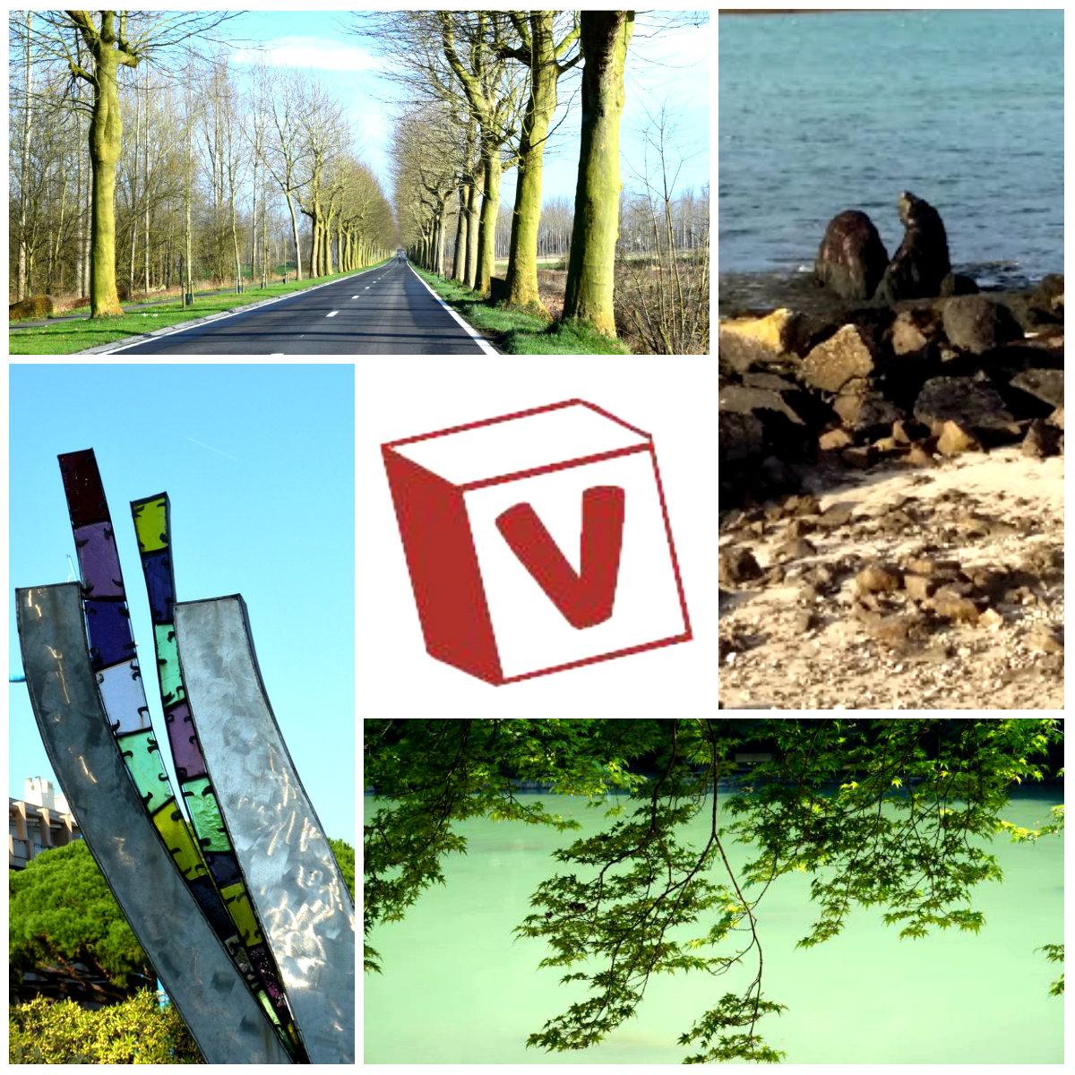 V collage