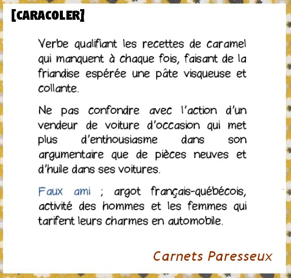 CARACOLER CARNETS