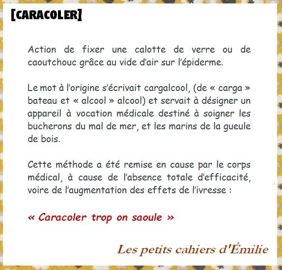 CARACOLER EMILIE