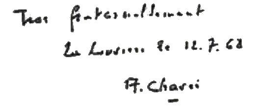 Chavée signature