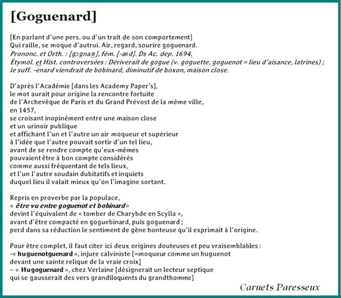 GOGUENARD CARNETS
